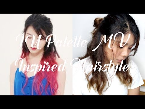 IU Palette MV Inspired Hairstyle