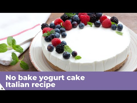 no-bake-yogurt-cake---italian-recipe