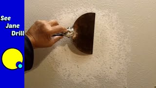 How to Repair a Wall with an Orange Peel Texture