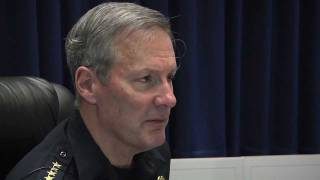 Milwaukee Police Chief Flynn discusses 2011 year-end crime numbers