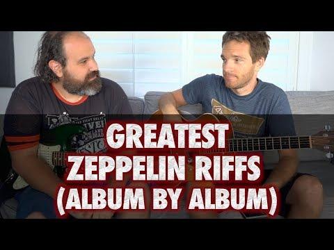 The Best Zeppelin Riffs Album by Album