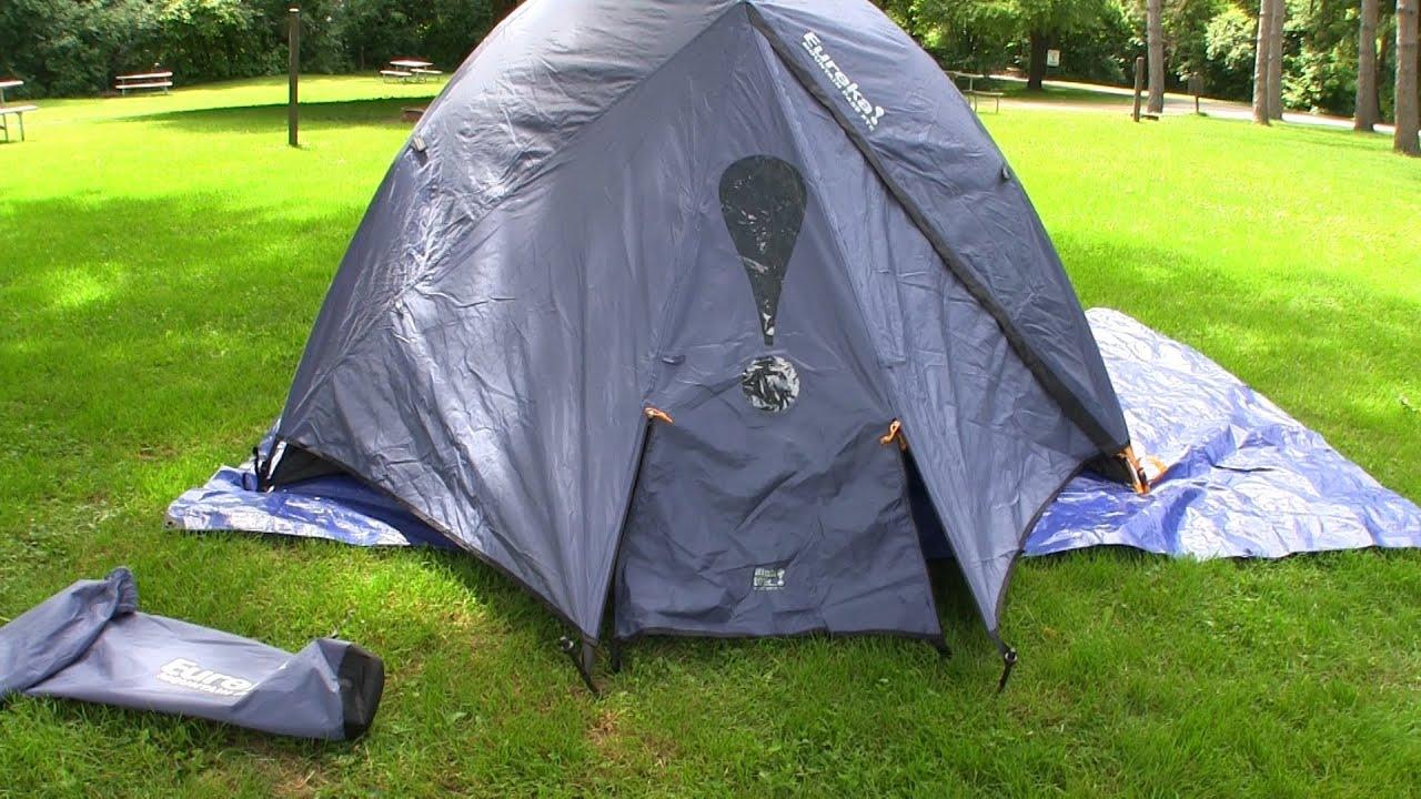 & Eureka Mountain Pass 3XTE Tent Review - YouTube