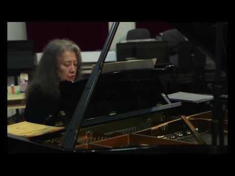 Itzhak Perlman & Martha Argerich record Brahms: Scherzo, F-A-E Sonata