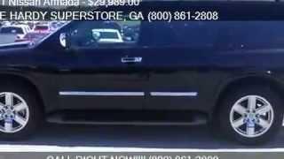 2011 Nissan Armada Platinum 4x2 4dr SUV for sale in Dallas,GA 30157 serving Rockmart and Acworth