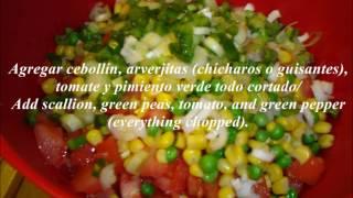 Ensalada Baja En Calorias/ Low-calories Salad