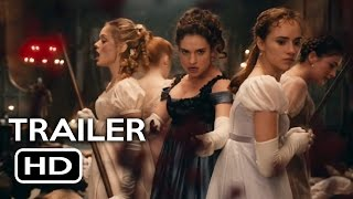 Pride and Prejudice and Zombies Official Trailer #1 (2016) Lily James Action Horror Movie