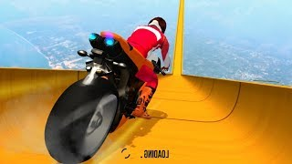 Impossible Mega Ramp Bike Stunt #Dirt MotorCycle Race Game #Bike Games To Play #3D Games For Android