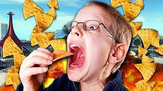EATING CHIPS TROLLING ON CALL OF DUTY! (Black Ops 2 Trolling) #4