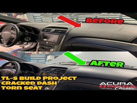 Acura Honda Classic TL Type-S Build Project - Interior Cracked Dashboard And More (Episode 2)