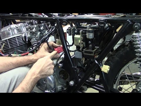 73 Honda CB750 Custom Build  Part 31 - Wiring Harness