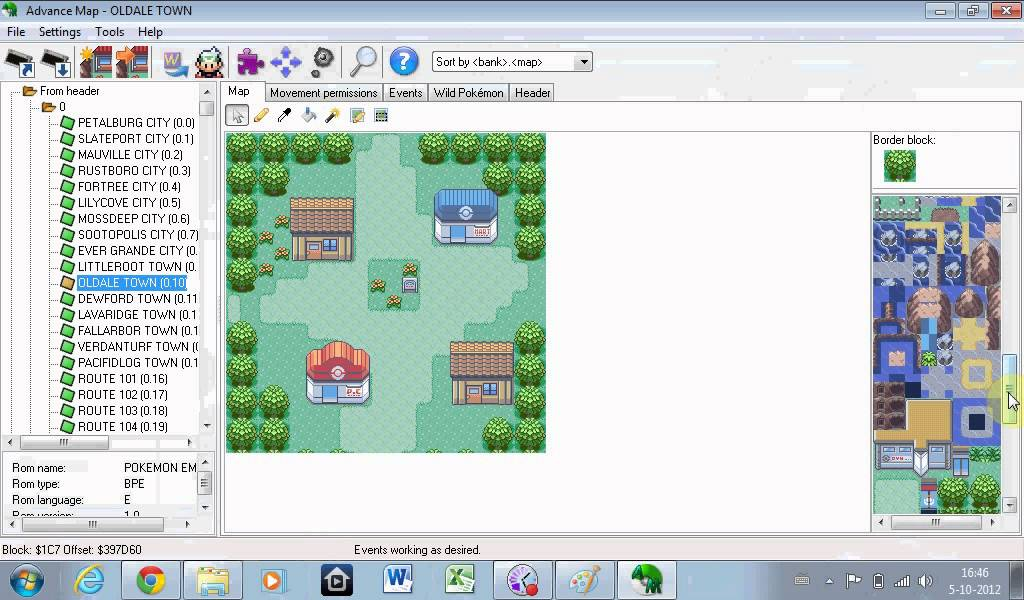 How to hack edit pokmon gba games episode 3 editing the map youtube how to hack edit pokmon gba games episode 3 editing the map gumiabroncs Image collections