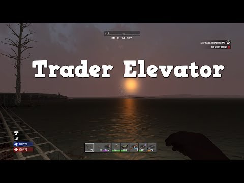 7 Days to Die | PS4 | Trader Elevator | S3 EP43