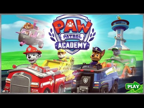 Paw Petrol Academy - Online Kids Game - by NickJr.com