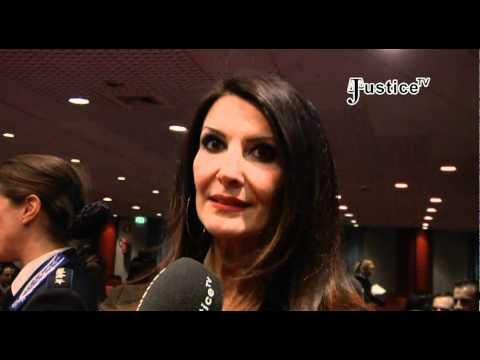 Anniversario Polizia Penitenziaria - Intervista ad Elena Guarnieri- Justice  Tv by JusticeTvFree