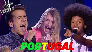 TOP 6 BEST AUDITIONS EVER | The Voice Portugal