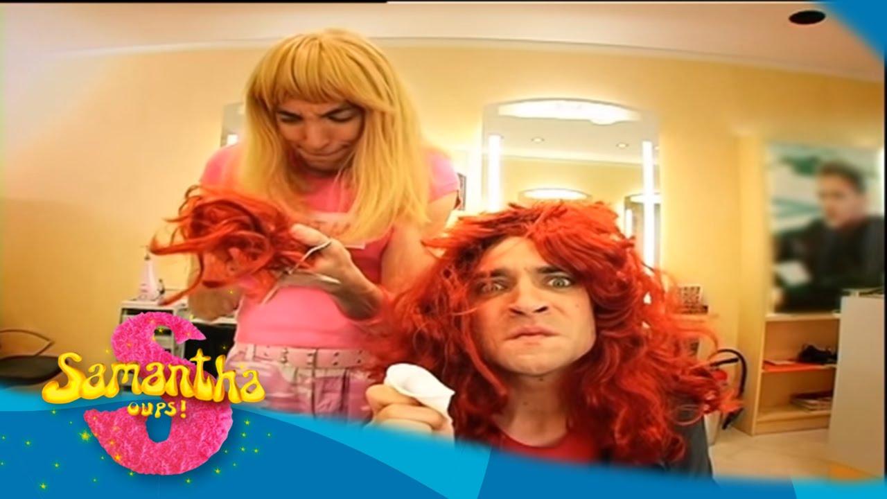 Samantha oups samantha se recoiffe au salon de coiffure for Samantha oups au salon de coiffure