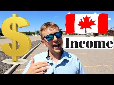 Income in Canada     How Much Money You Can Earn?!