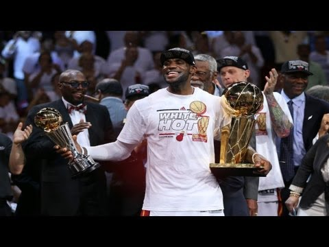 2013 NBA Finals MVP : Lebron James