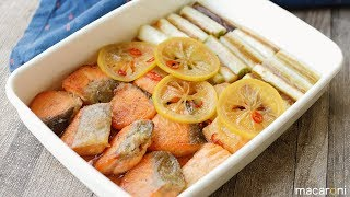 鮭と 長ねぎの 南蛮漬け のレシピと作り方を動画でご紹介します。鮭と長...