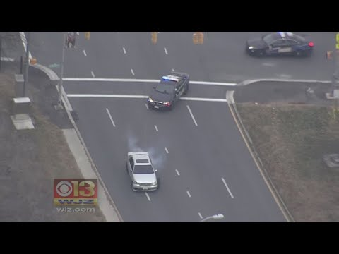Deadly Shooting Suspect Flees From Police, Causes Chaos Across Baltimore