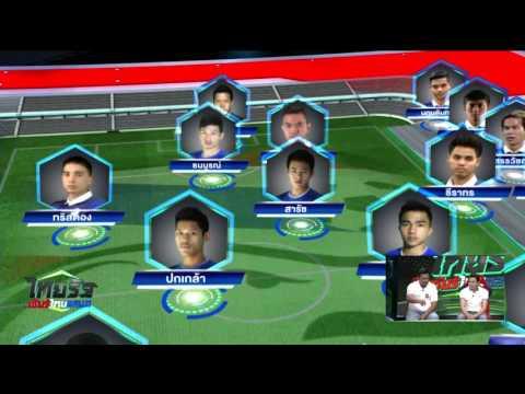 ไทยรัฐเชียร์ไทยแลนด์ : เซียนบอลหัวเขียว 'โค้ชโย่ง-โค้ชจุ่น' วิเคราะห์ ไทย VS ไต้หวัน