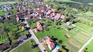 Video-Flug am Rande von Brittheim mit Drohne