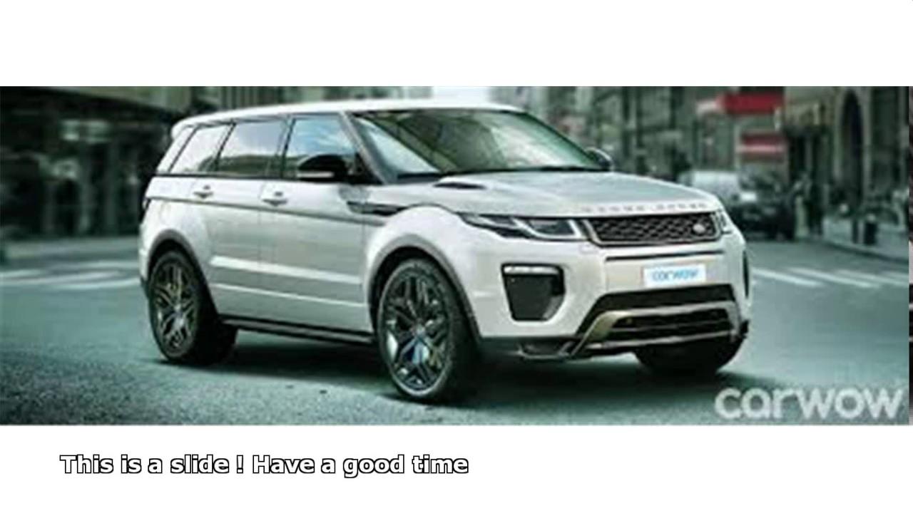 Range Rover 8 Seat