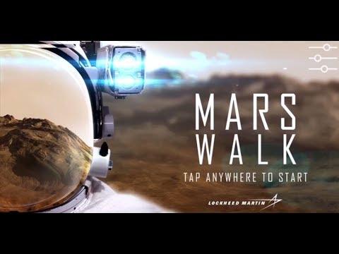 Mars Walk Virtual Reality App  | :50 sec | Lockheed Martin