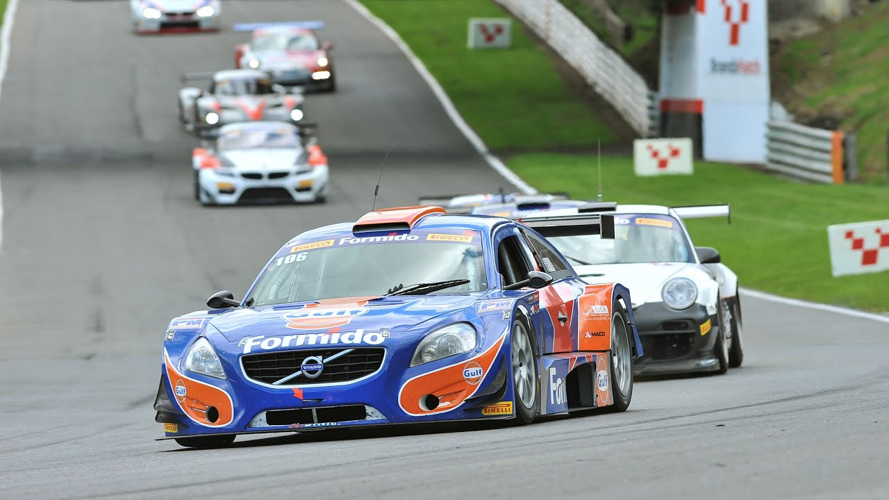 Supercar Challenge Round Brands Hatch Gt English Youtube