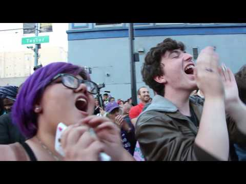 Trans Power! at the San Francisco Trans March 2016