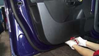 Passat B6 Разборка двери (Door removal)