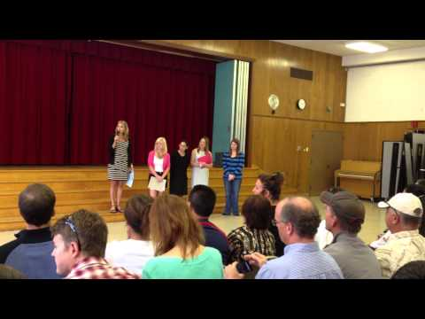 Griffin graduates from Heather Elementary School
