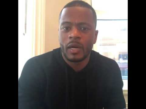 Patrice Evra's Christmas message for Syrian people