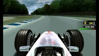 F1 RACING CHAMPIONSHIP 1999 Old Hockenheim Gameplay