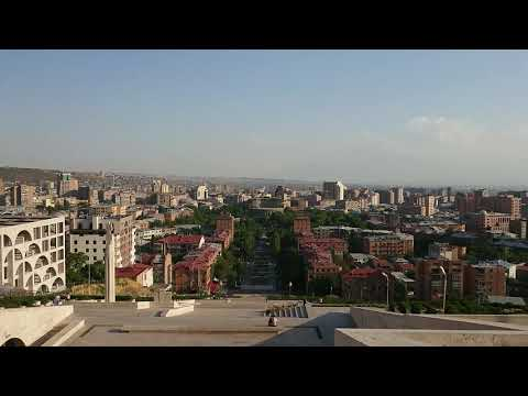 ЕРЕВАН ВИД С КАСКАДА ИЮЛЬ 2019
