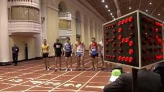7-борье мужчины. 1000м. Чемпионат и первенства по многоборью (06.01.2013).