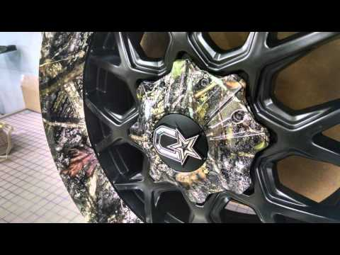 Ford F150 Rims - True Timber Conceal Camo