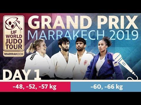 Judo Grand-Prix Marrakech 2019: Day 1
