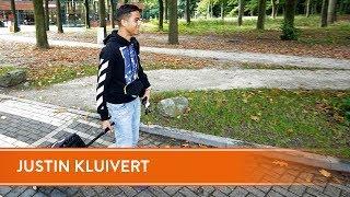 De eerste dag van Justin Kluivert bij Jong Oranje