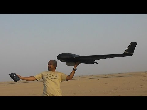 SkyWalker Black X8 Giant Flying Wing Maiden Flight