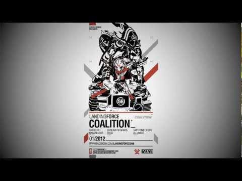 Landing Force - Coalition Mixtape (Dubstep, Drumstep, DnB)