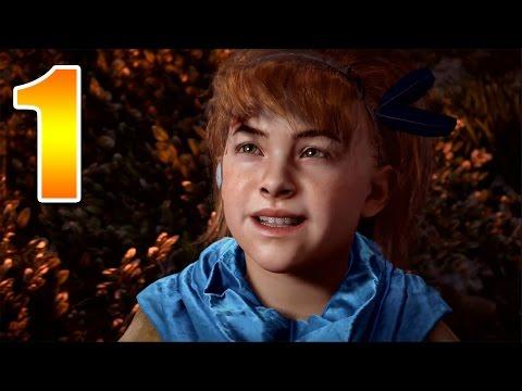 Horizon Zero Dawn (1) ANAK KECIL BERNASIB MALANG!! :'(