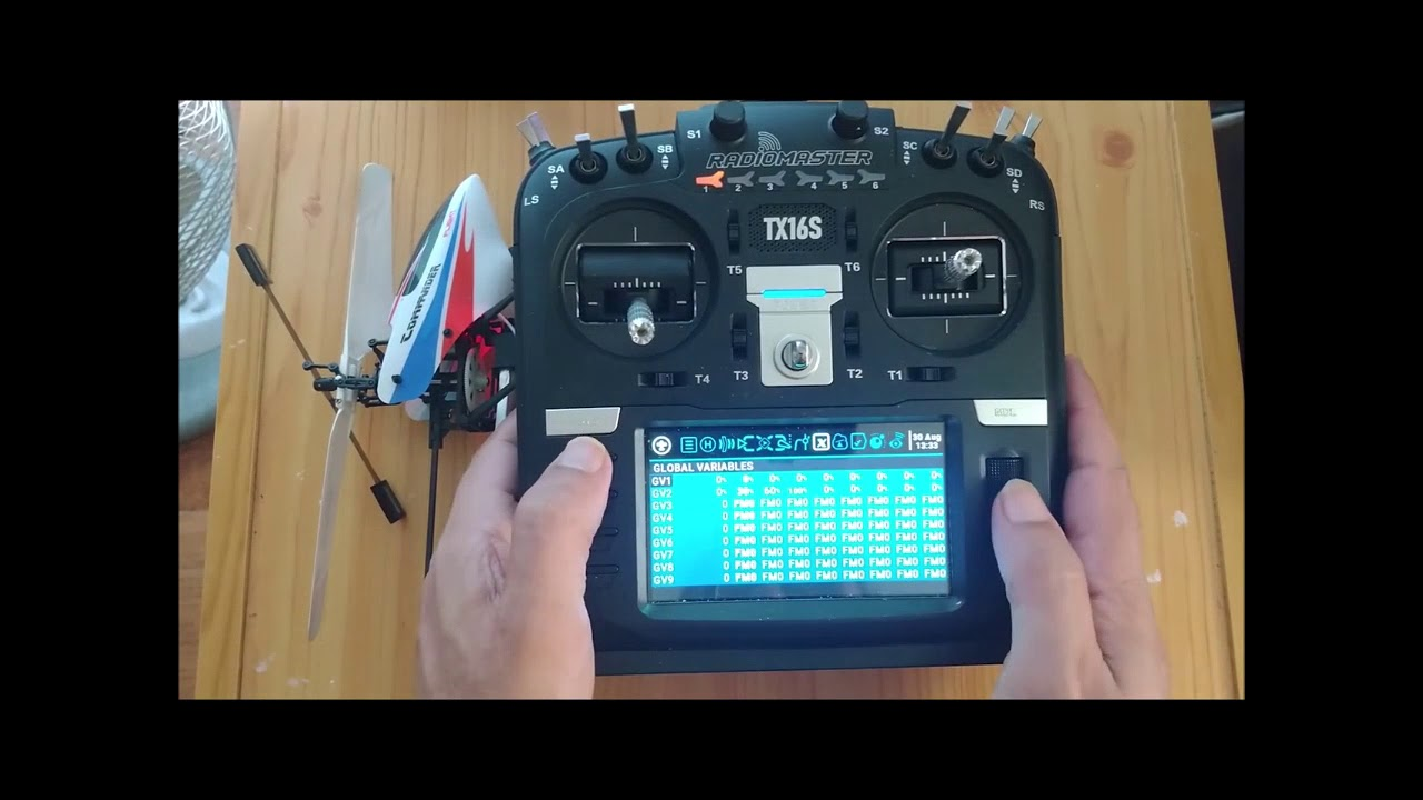 HOW TO SETUP helicopter WLtoys v911 v911S v966 V977 V950 V930 in RadioMaster TX16S with OpenTX
