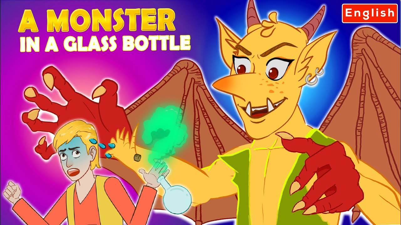 A Monster In A Glass Bottle | Story For Teenagers | WOA Fairy Tales