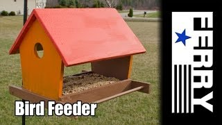 Ⓕ Bird Feeder Build (ep1)