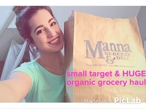 8. Small Target & HUGE Organic/Vegetarian Grocery Haul