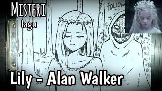 Cerita Mistis Dibalik Lagu Lily - Alan Walker  || DRAWSTORY