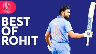 Rohit Sharma - Top Run-Scorer | ICC Cricket World Cup 2019 | Best Bits