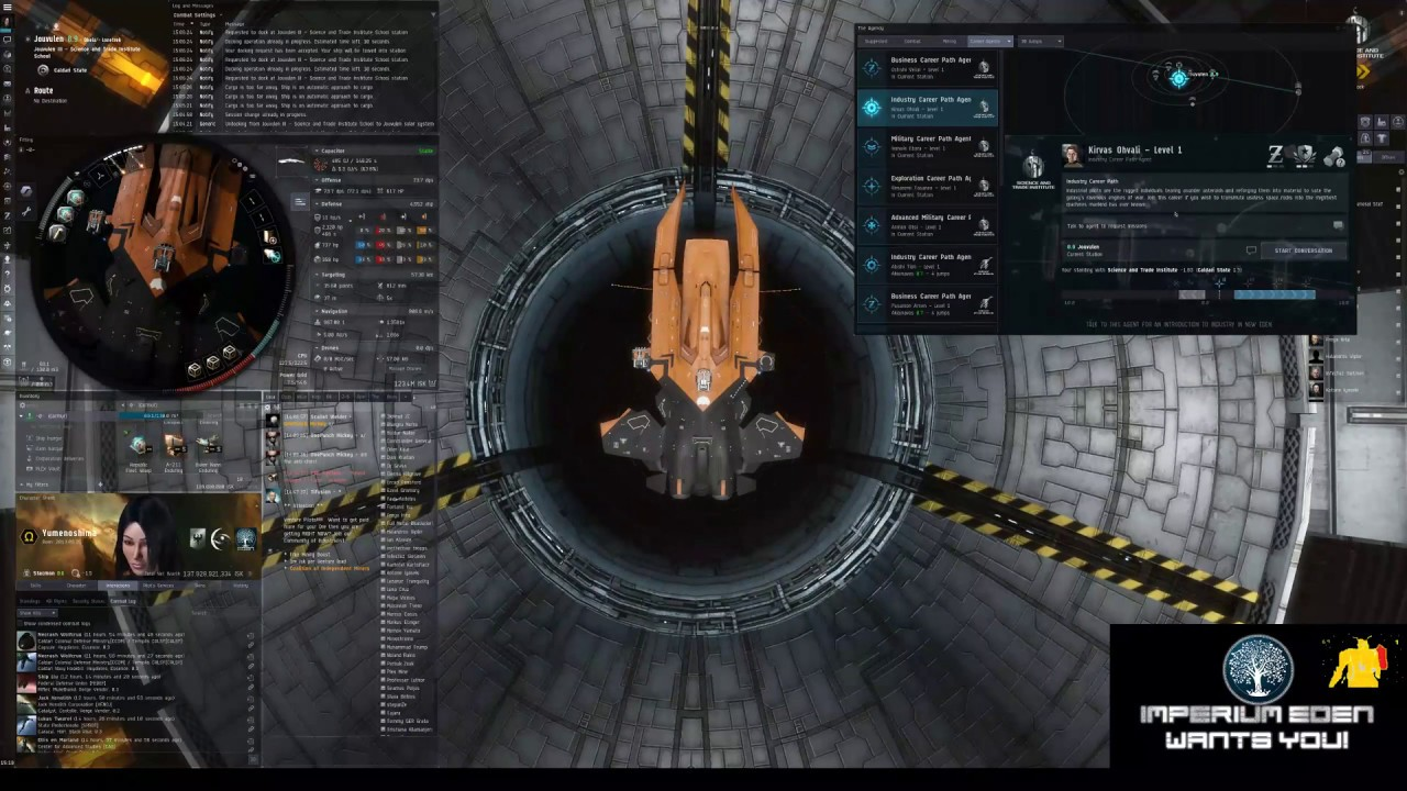 EVE ONLINE - Industry Career Path Agent (No PVP)