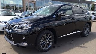2015 Lexus RX 350 AWD F Sport Package Review - Black on Black - South Edmonton, Alberta